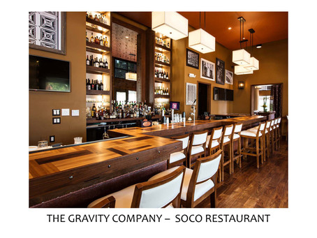 SOCO Restaurant Wins IIDA Hospitality Project Award
