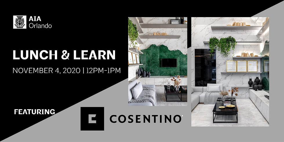 Lunch & Learn featuring Cosentino