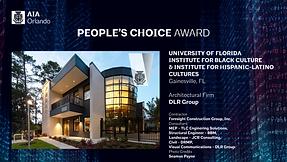 32 People's Choice award UF Black & Hisp