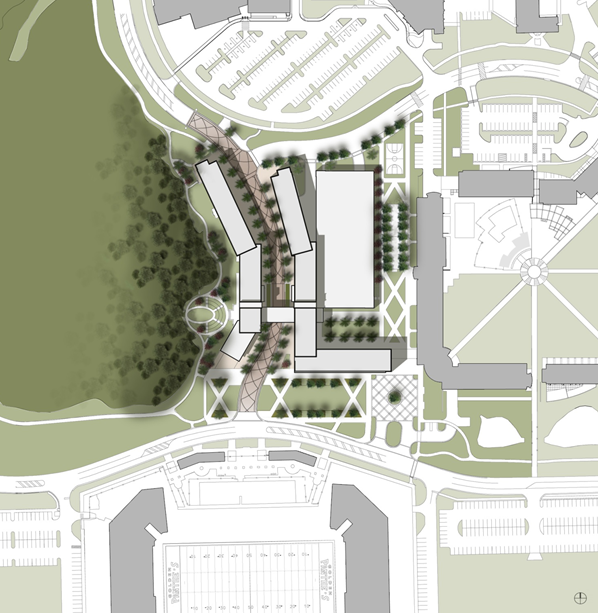FIU Parkview Dorms siteplan