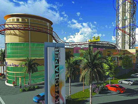 Skyplex Complex to Feature Skyscraper Coaster