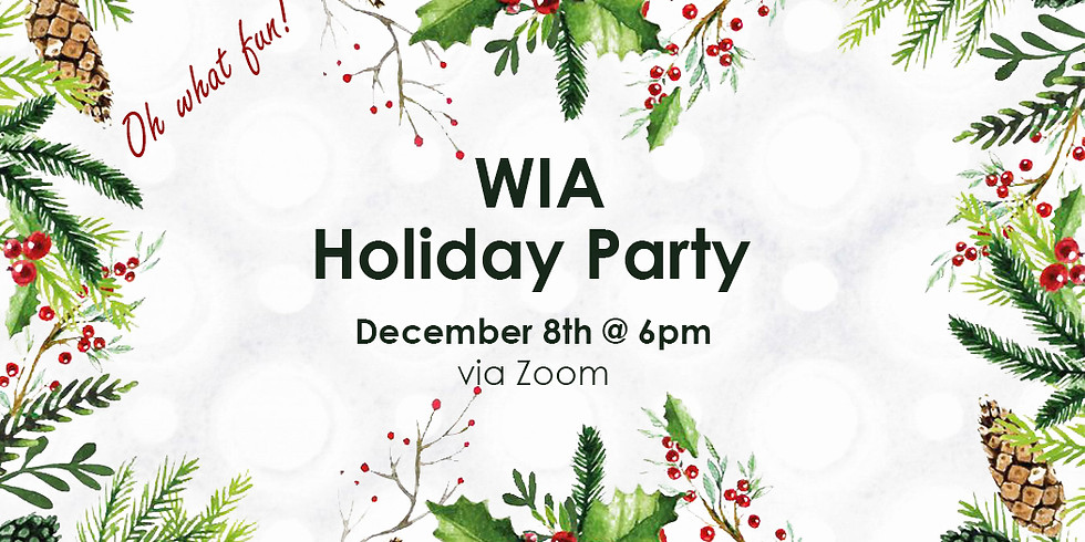 WIA Annual Holiday Party