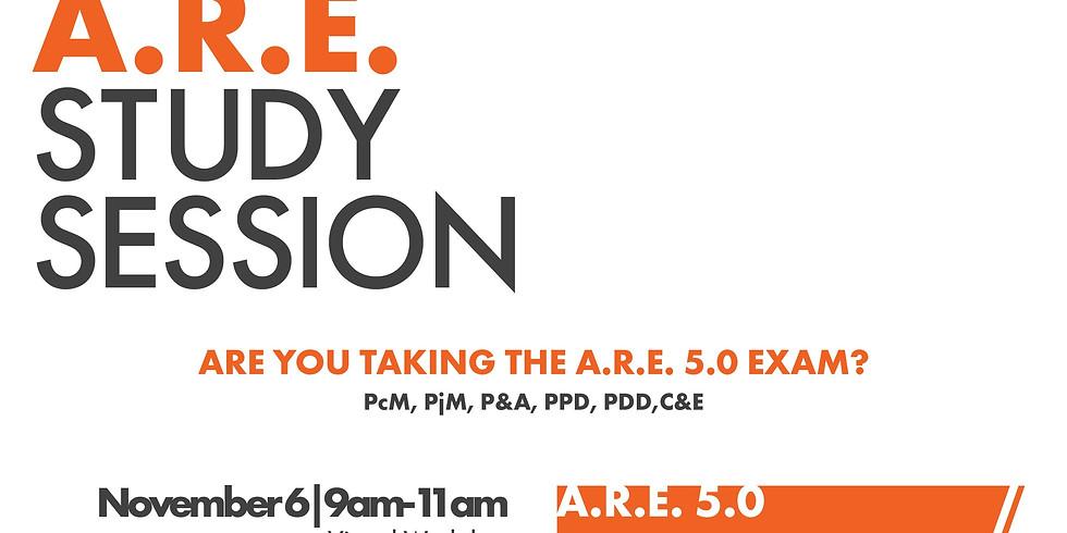 A.R.E Virtual Study Session