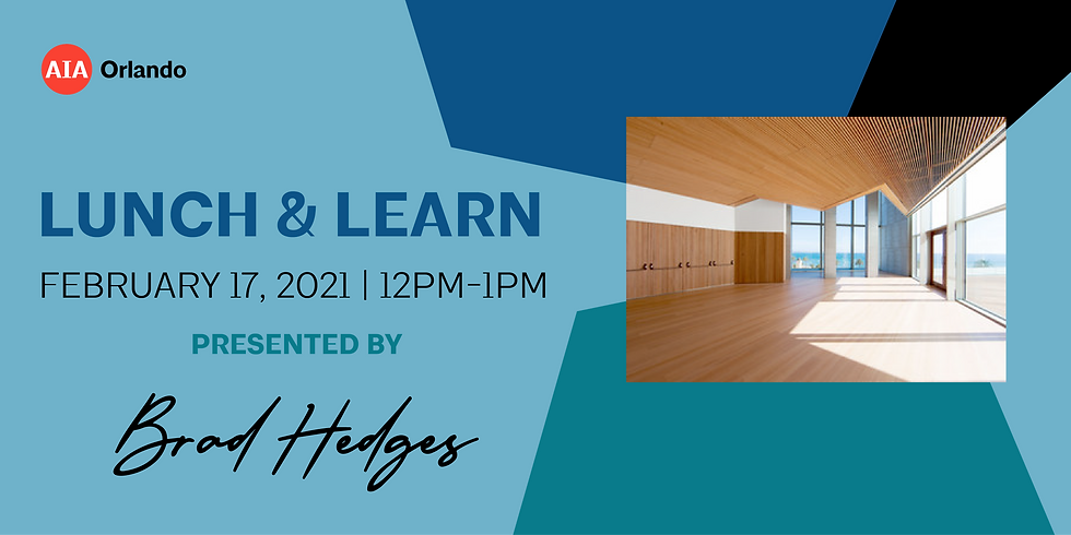 Lunch & Learn featuring Brad Hedges