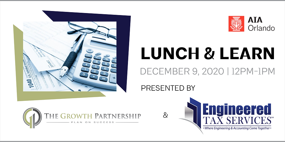 Lunch & Learn featuring Engineered Tax Services