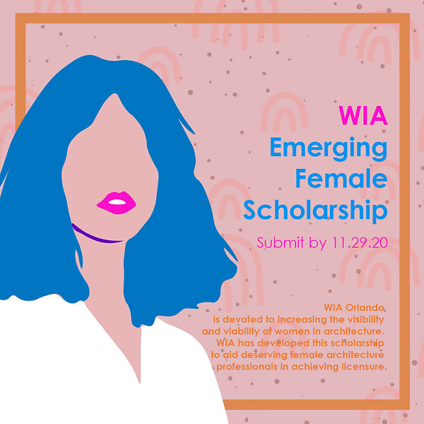 WIA Emerging Female Scholarship Poster.j
