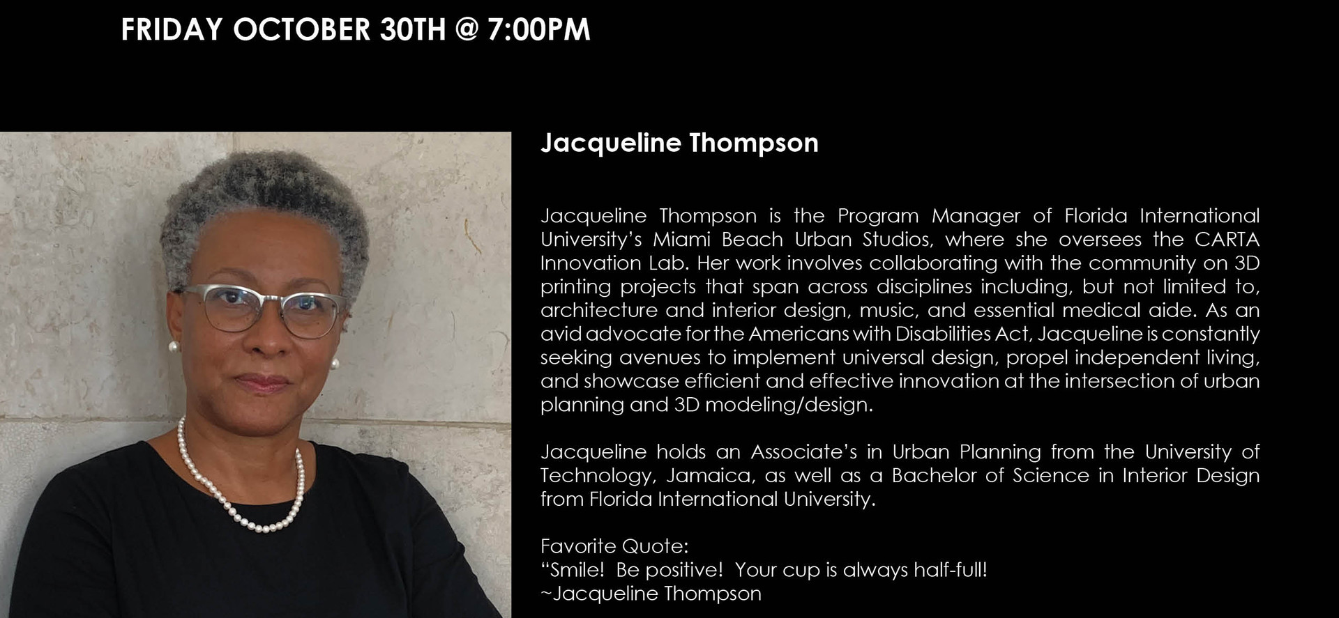 Jacqueline Thompson