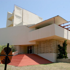 Frank Lloyd Wright Designs A Chapel for Florida
