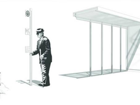 Mills 50 Bus Stop Shelter Prototype
