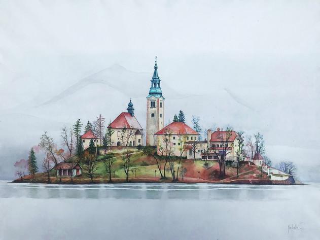 Fairy Island-Lake