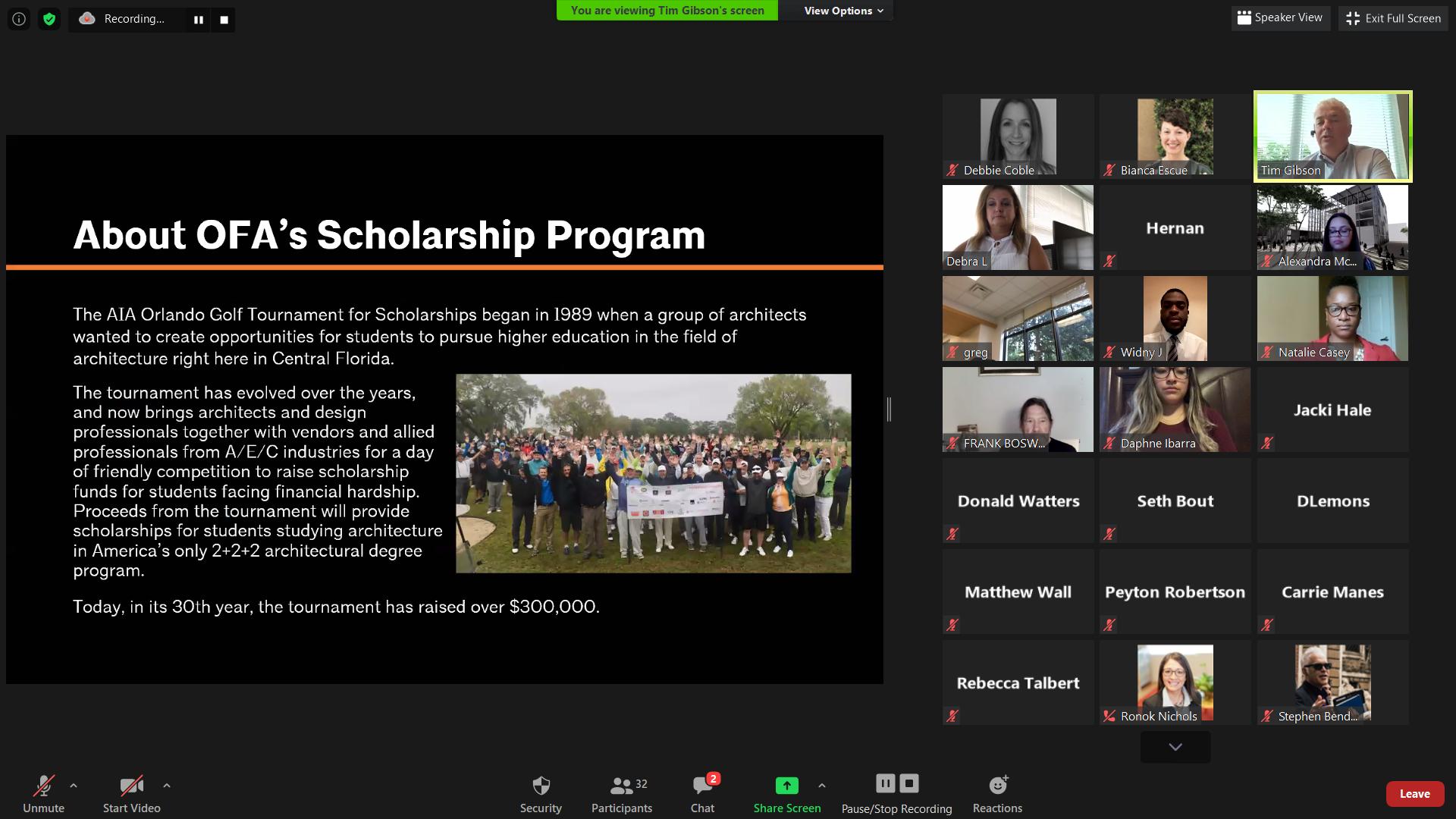 2020 Scholarship Awards Presentation 2