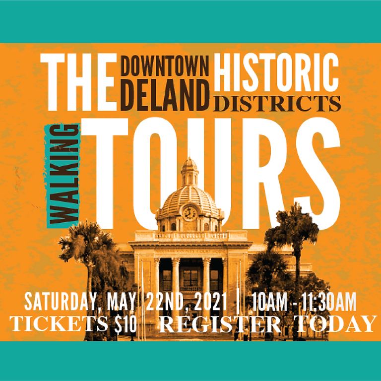 Deland Historic Districts Walking Tours