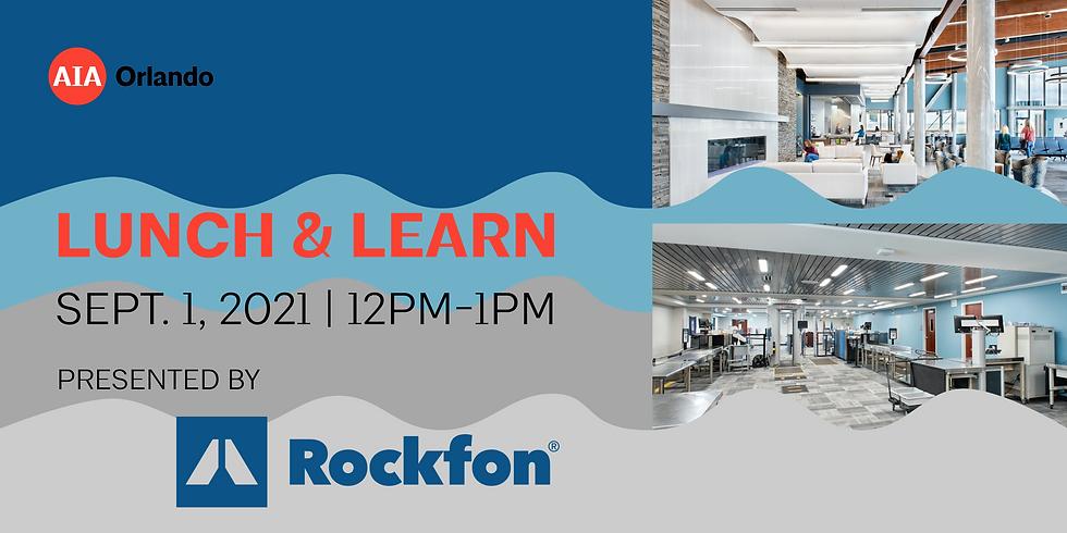 Lunch & Learn featuring Rockfon