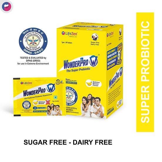 WonderPro Probiotic supplement