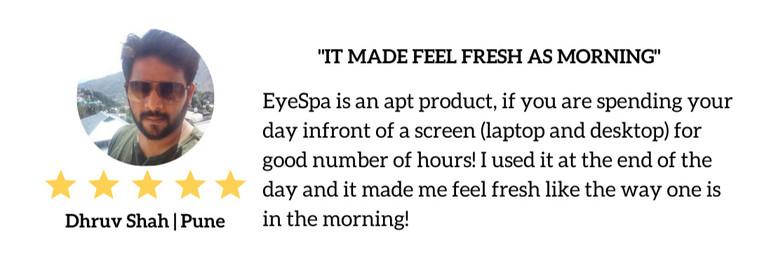 Eyespa Customer Review