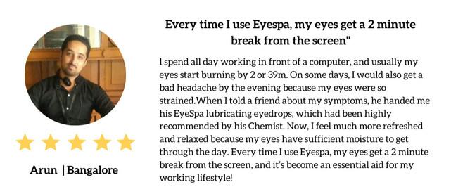Eyespa testimonial