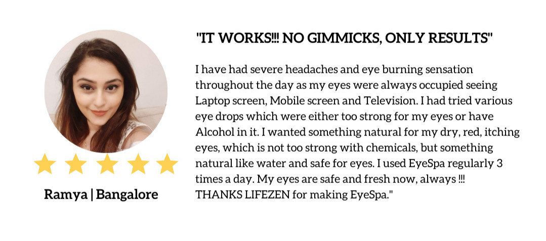 Client Testimonial about Eyespa