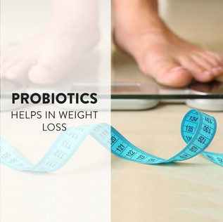 How Probiotics Help with Weight loss