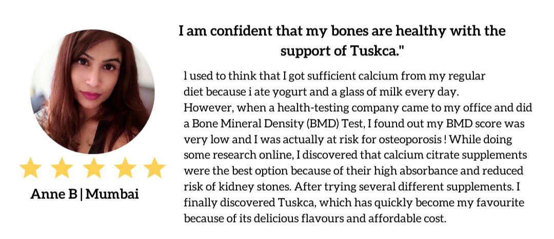 Client testimonial about Tuskca