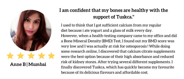 Client testimonial about Tuskca