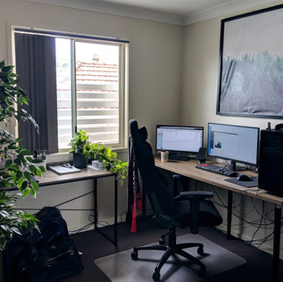 How to setup your workspace at home that helps in reducing stress