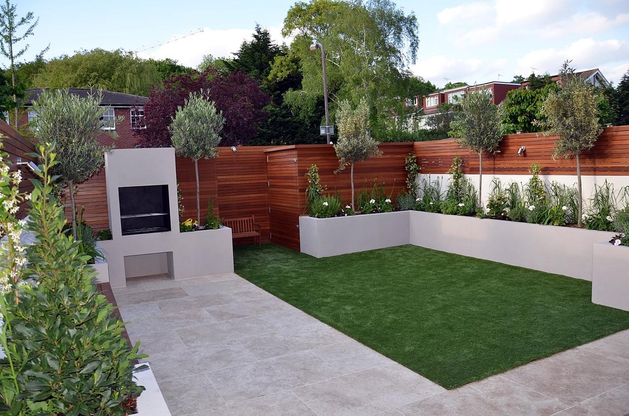 modern garden design chelsea london