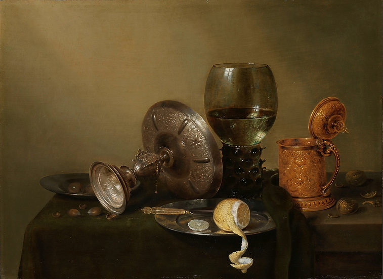 Still Life With A Gilded Beer Tankard