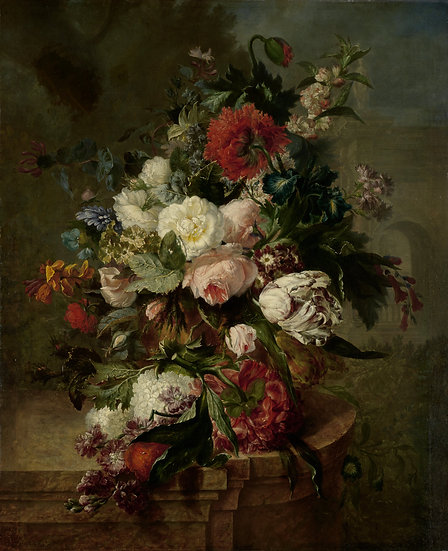 Still Life with Flowers (Harmanus Uppink)