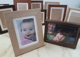 Gift frames available in various finishes