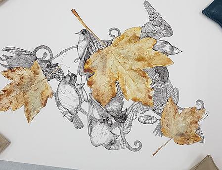 Print on Hahnemühle German Etching 310gsm. Original artwork by Annalie Turner