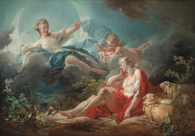 Diana and Endymion (Jean Honoré Fragonard)