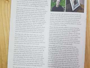 Interview In Hillscene Magazine