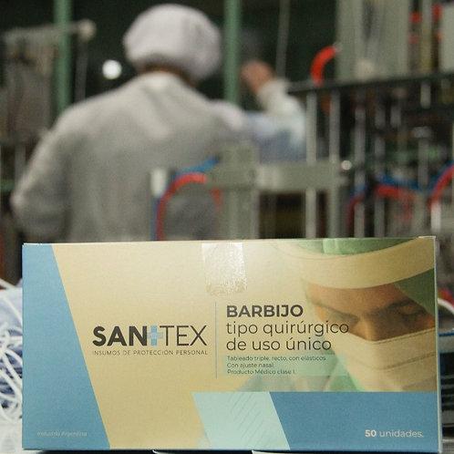Pack Barbijo quirúrgico tricapa x50 unidades