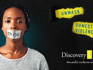 MEDIA RELEASE: UNMASK DOMESTIC VIOLENCE