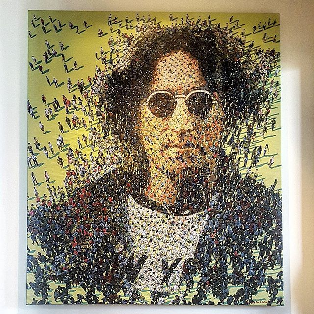 And of course,__3. John Lennon__redseagallerybrisbane _Such an incredible hang today