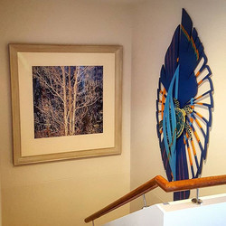 Had the pleasure of hanging these two fantastic pieces of art today for a client in St Lucia