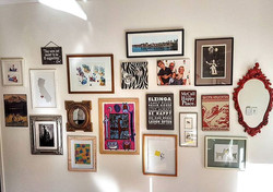 Do you have heaps of things waiting to be hung__Artworks, family photos, mirrors..
