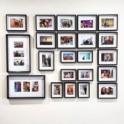 Hanging this fantastic photowall this mo