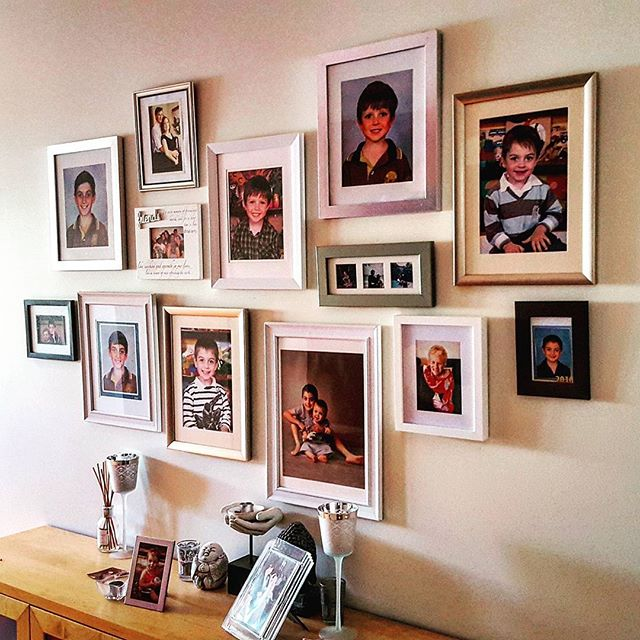 A great way to showcase your family photo's