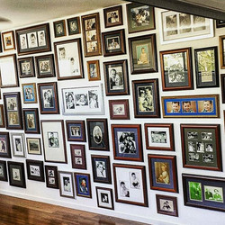 Do you have a room rull of family photos and frames lying around__ Why don't you give us a call and