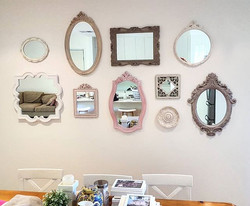 Hanging this fantastic wall of mirrors today in Wavell Heights