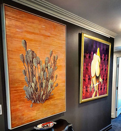 Another look at some of the beautiful pieces on display in this private residence