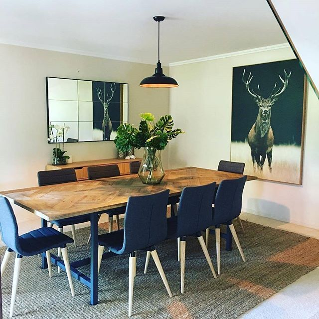 #regrann - Here's a great home we hung for the lovely _graceandcopropertystyling and _domayne_hire_s