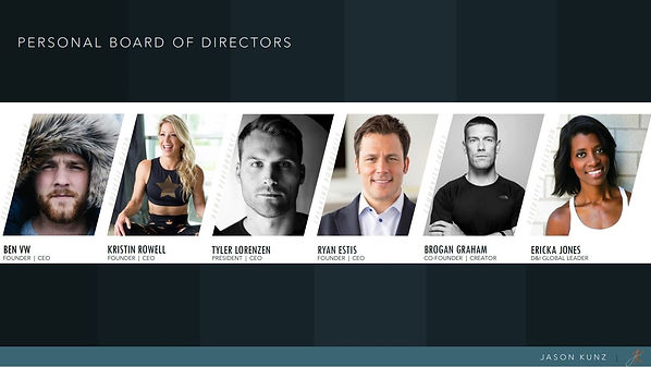 Personal Board of Directors PBOD Page Tw