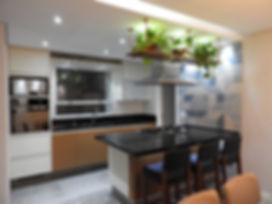 Apto ANMA - Cozinha. Foto: Atelier LAB