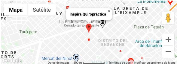 Google Maps Inspira Quiropráctica
