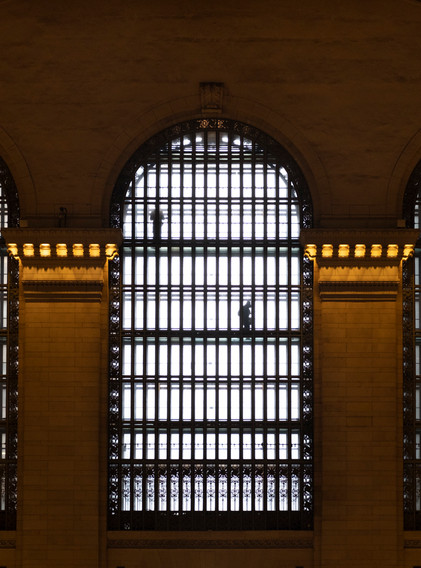 silhouettes grand central NY