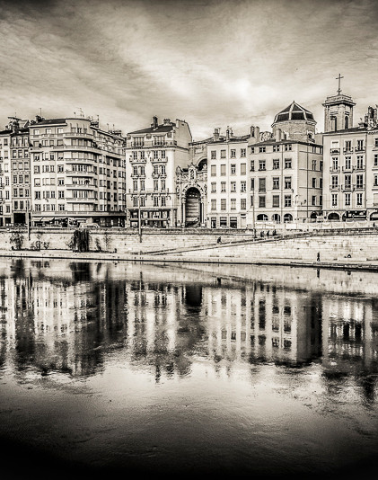 Lyon, quais de saône