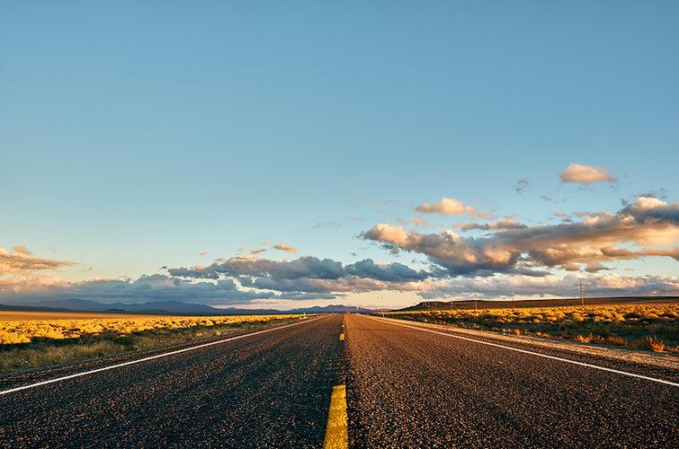 Open highway in California, USA..jpg