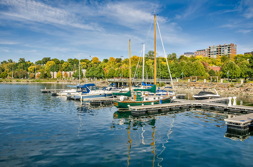 Burlington, Vermont in the fall | FTLO Travel | Group Trips for Young Professionals